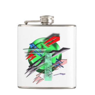 芸術の容器 フラスク
