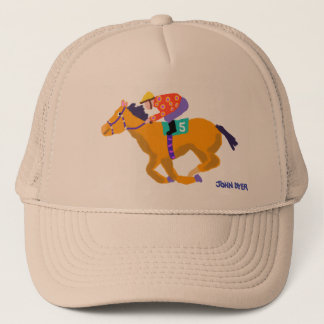 芸術の帽子: ジョンのダイアーによる競争のホース キャップ
