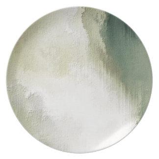 芸術の抽象的でグランジな塵の織り目加工の背景 プレート