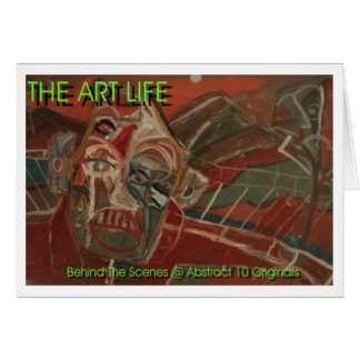 芸術の生命フライヤ カード