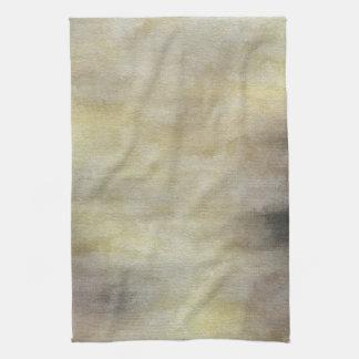 芸術の紙の抽象的な水彩画の背景 キッチンタオル