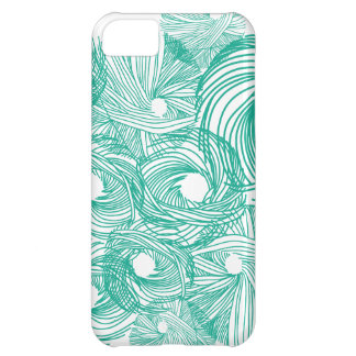 芸術の編み物のイラストレーションの例 iPhone5Cケース