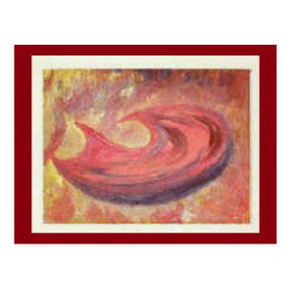 芸術の郵便はがき3 -空腹-油絵からの… ポストカード