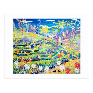 芸術の郵便はがき: Glendurganの庭の当惑 ポストカード