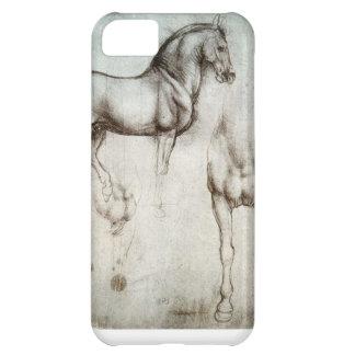 芸術の馬のスケッチとのiPhone 5cケース iPhone5Cケース