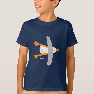 芸術のTシャツ: クラシックなカモメ。 子供 Tシャツ