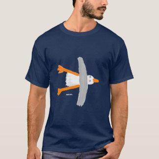 芸術のTシャツ: クラシックなカモメ Tシャツ