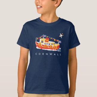 芸術のTシャツ: コーニッシュのTシャツ。 フェリーボート Tシャツ