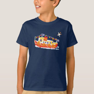 芸術のTシャツ: Falmouthのフェリーボート、コーンウォール Tシャツ