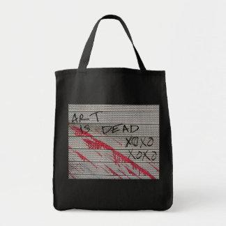 芸術は死んだXOXO XOXOです トートバッグ