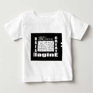 芸術を想像して下さい ベビーTシャツ