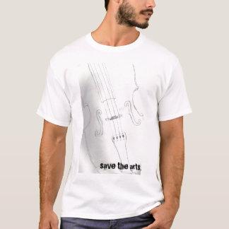 芸術を救って下さい Tシャツ