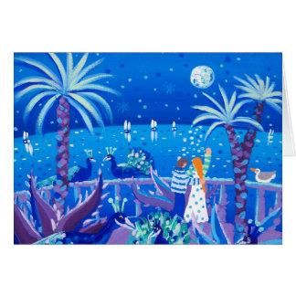 芸術カード: サファイアの孔雀愛、Côteのd'Azur カード