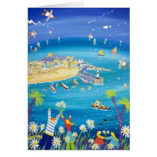 芸術カード: 振るデイジー、St Ives カード
