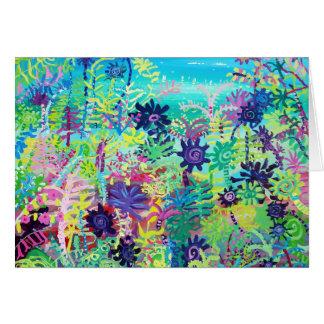 芸術カード: 補助的な熱帯植物 カード
