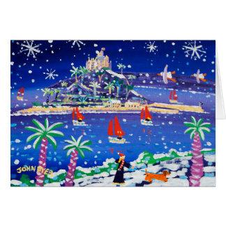 芸術カード: 雪を通って航海 カード