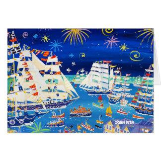 芸術カード: 高い船および小舟2014年 カード