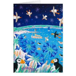 芸術カード: Scillyのツノメドリ カード