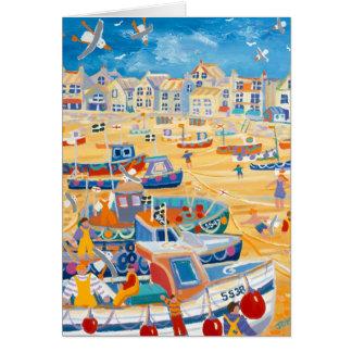 芸術カード: St Ives港、コーンウォール カード