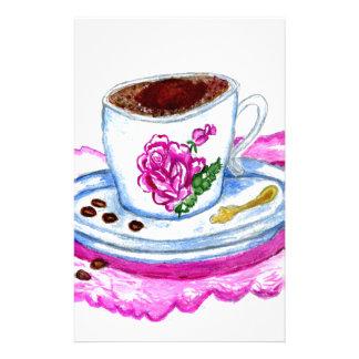 芸術コーヒー 便箋