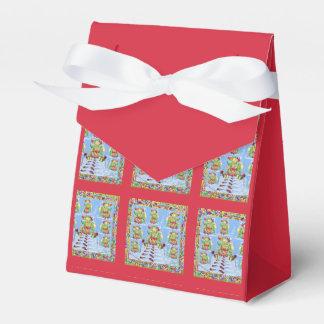 芸術品を気取ったなクリスマスのデザイン フェイバーボックス