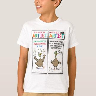 芸術家がある方法 Tシャツ