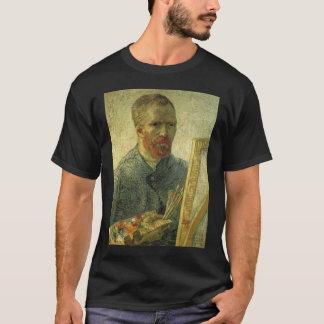 芸術家としてヴィンチェンツォウィレムゴッホの自己のportait tシャツ