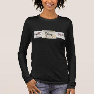 芸術家によるスーザンPayneポロシャツのデザイン 長袖Tシャツ