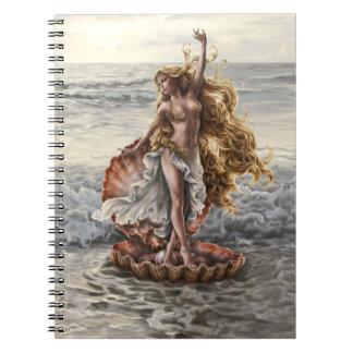 芸術家によるリンジーArche女神のアフロディーテのノート ノートブック