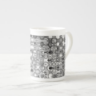 芸術家によるC.L.ブラウンインク及びエコーIIの骨灰磁器のマグ ボーンチャイナカップ