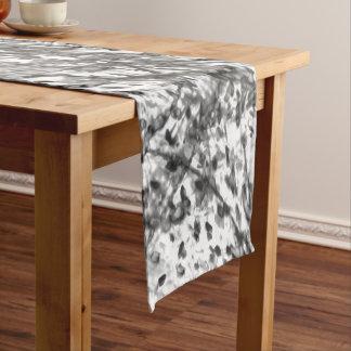 芸術家によるC.L.ブラウンインク洗浄テーブルのランナー ショートテーブルランナー