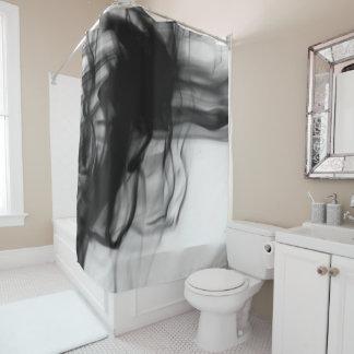 芸術家によるC.L.ブラウン黒い火IIのシャワー・カーテン シャワーカーテン