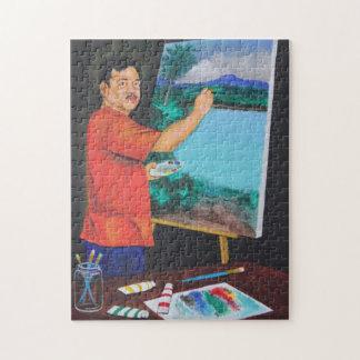 芸術家のパズル ジグソーパズル