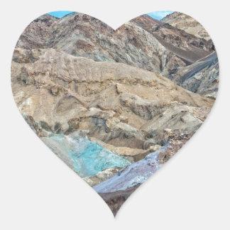 (芸術家のパレット)デスヴァレー国立公園 ハートシール