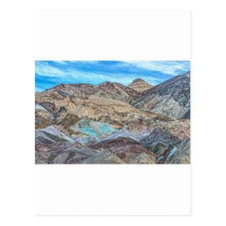 (芸術家のパレット)デスヴァレー国立公園 ポストカード
