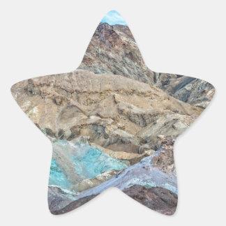 (芸術家のパレット)デスヴァレー国立公園 星シール