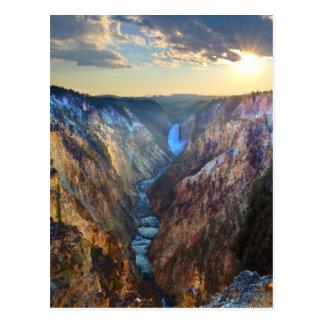 芸術家のポイントからの滝を下げて下さい ポストカード