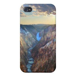 芸術家のポイントからの滝を下げて下さい iPhone 4 カバー