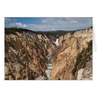 芸術家のポイント、イエローストーン国立公園 カード