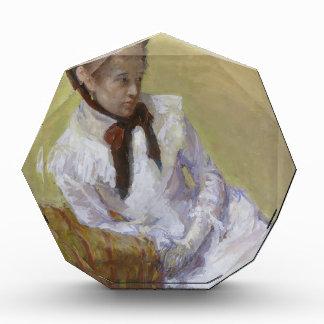 芸術家のポートレート-メリーCassatt 表彰盾