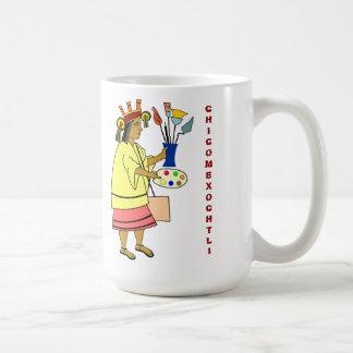 芸術家のマグのChicomexochtliのパトロンの神 コーヒーマグカップ