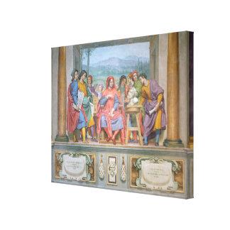 芸術家の中のロレンツォ キャンバスプリント