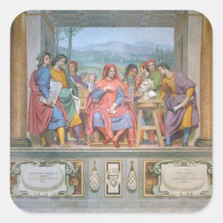 芸術家の中のロレンツォ スクエアシール