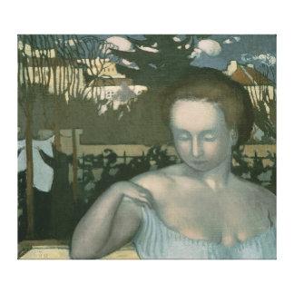 芸術家の妻1893年 キャンバスプリント