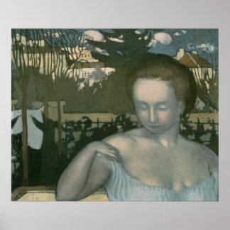 芸術家の妻1893年 ポスター