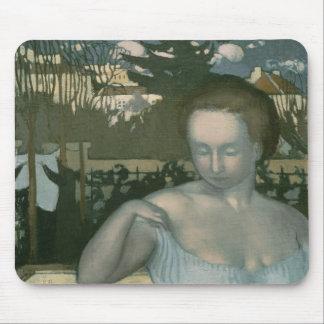 芸術家の妻1893年 マウスパッド
