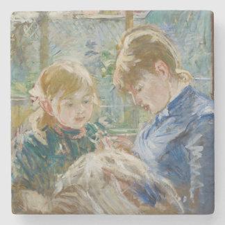 芸術家の娘、彼女の乳母を持つジュリー、 ストーンコースター