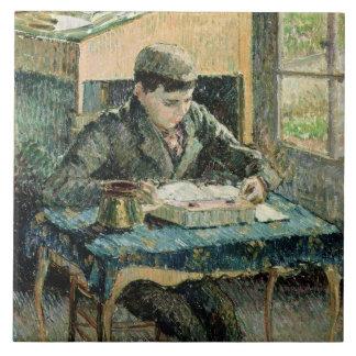 芸術家の息子1893年(キャンバスの油) タイル