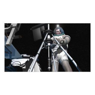 芸術家の未来の宇宙探検の概念 フォトプリント