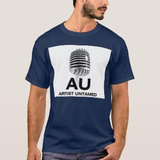 芸術家の自然のままのインディのミュージシャン Tシャツ